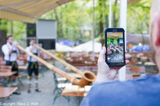 Eventfotografie, Amadeus Firmenevent, Augustinerkeller München