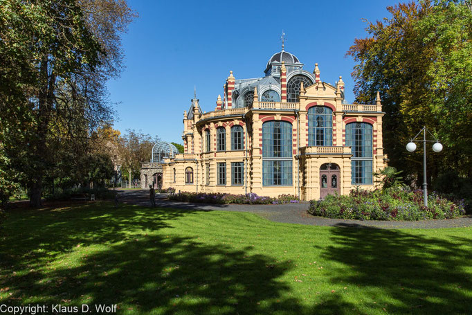 Kurhaus Göggingen, Augsburg. Location-Foto Firmenevent