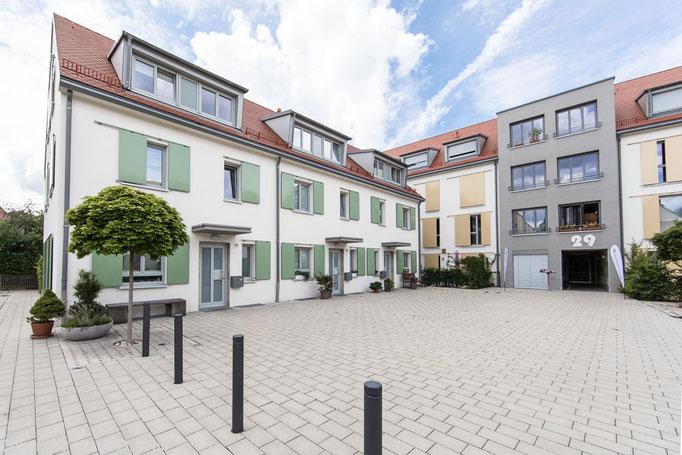 Architekturfotograf München. Reportage Wohnbauprojekte Nürnberg