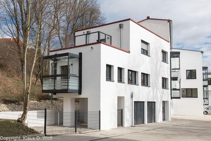 Immobilienfotograf München, Projekt Gewerbehof Dachau, PR-Foto für RH
