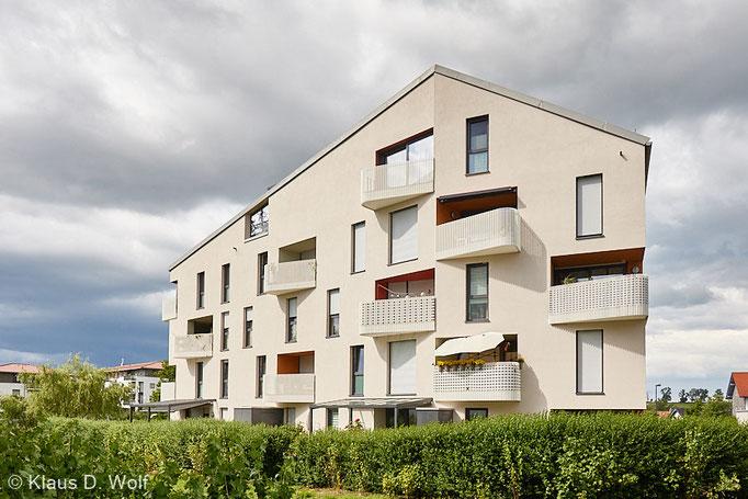 """Architekturfotograf München, Wohnungsbau in Kempten für die Zeitschrift """"wohnen"""""""
