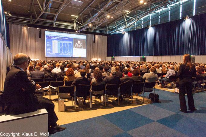 Kongresssfotografie, Bayer Forum auf dem ESC-Kongress, Messe München