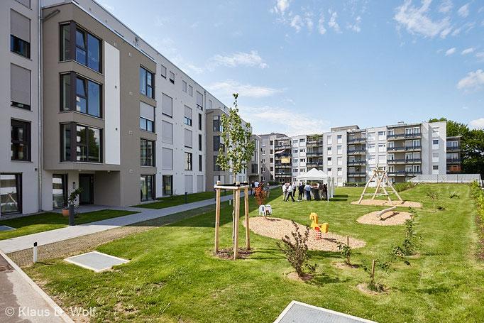 Architekturfotograf München, Wohnbauprojekt  Kempten