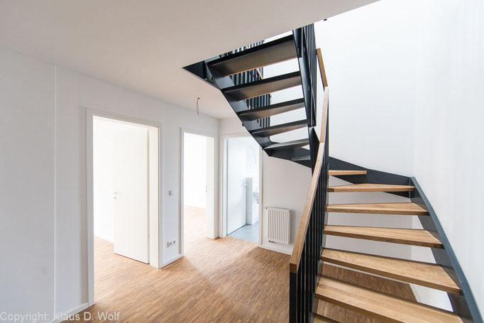Immobilienfotograf München. Reportage Wohnbauprojekte Nürnberg, Interior