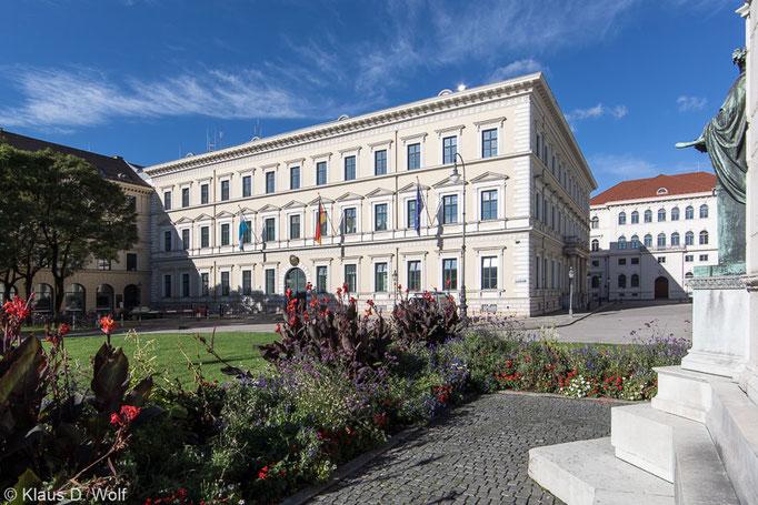 Architekturfotografie, Odeon, München. Für die Öffentlichkeitsarbeit des Innenministeriums.