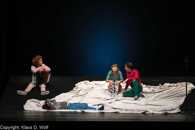 """Theaterfotografie: Presseveranstaltung """"Trau dich!"""", Deutsches Theater, München"""