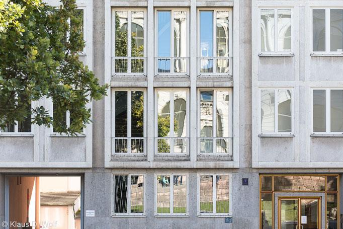 Architekturfotografie München, 60er-Jahre-Bau, Akademiestraße