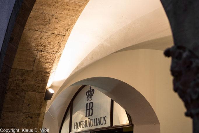 Architekturfotografie: PR-Fotos der neuen Beleuchtung des Hofbräuhauses München