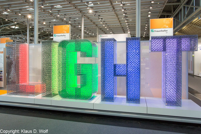 Messefotografie: Laser World of Photonics, Messe München