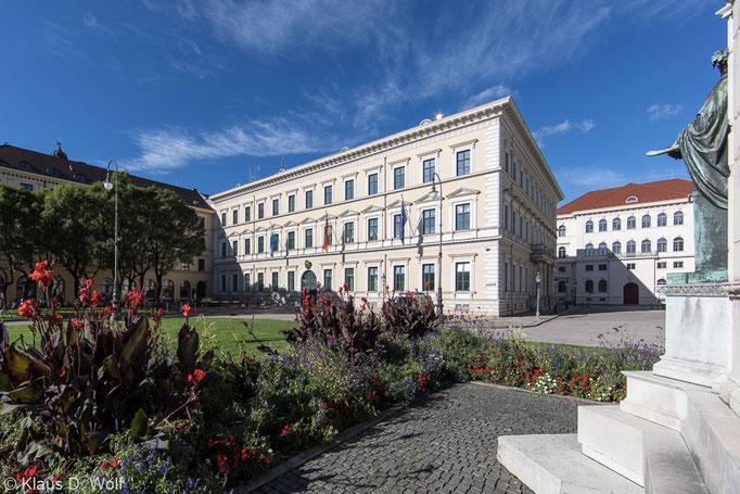 Architekturfotograf München, Innenministerium Bayern, Klenze-Bau