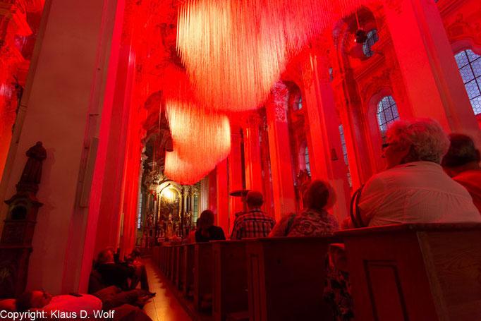 Michael Pendry, Clouds 2015, Heilig Geist, München, Dokumentation: Klaus D. Wolf, Fotografie