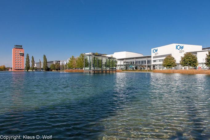 ICM München, Messe München, Architekturfoto für eine Veranstaltungsreportage