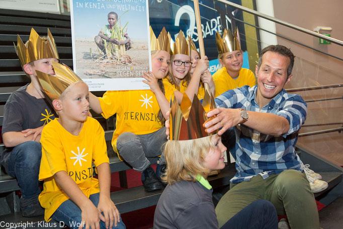 Pressefotograf München, Sternsinger Filmpremiere mit Willi Weitzel, Pressefoto