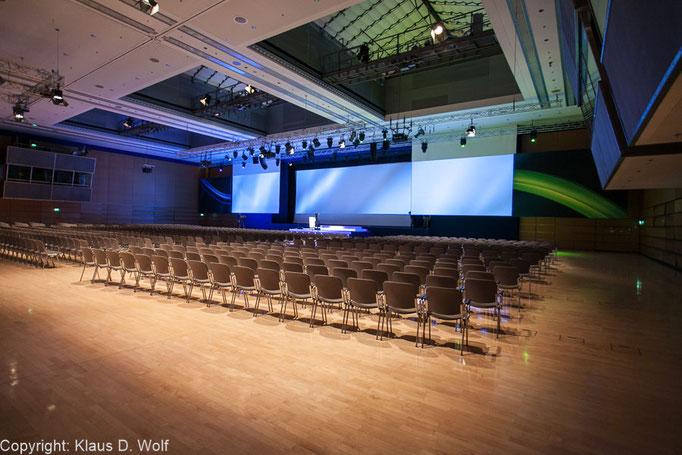 ICM München, Location-Foto Konica-Minolta-Kongress