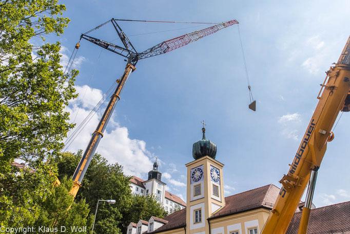 Baustellendokumentation, Domberg Freising, Fotograf München