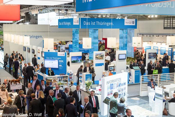 Messefotografie; Thüringen auf der expo real, München