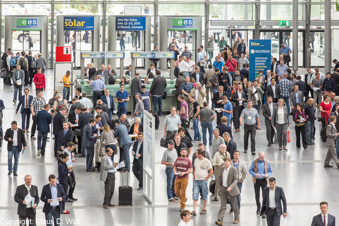 intersolar europe, Messefotografie München
