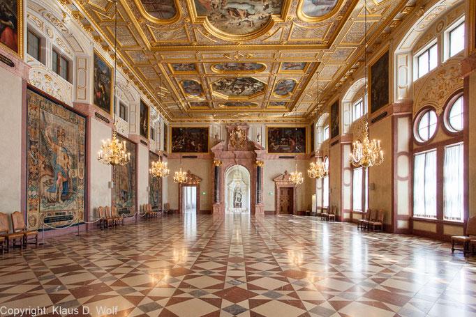 Residenz München, Location-Foto für einen Empfang des Bundesjustizministeriums