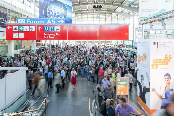 Messefotograf München, Messeauftritt des Bundesforschungsministeriums auf der IFAT, Messe München