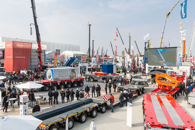 Messeevent, bauma, Messefotograf in München