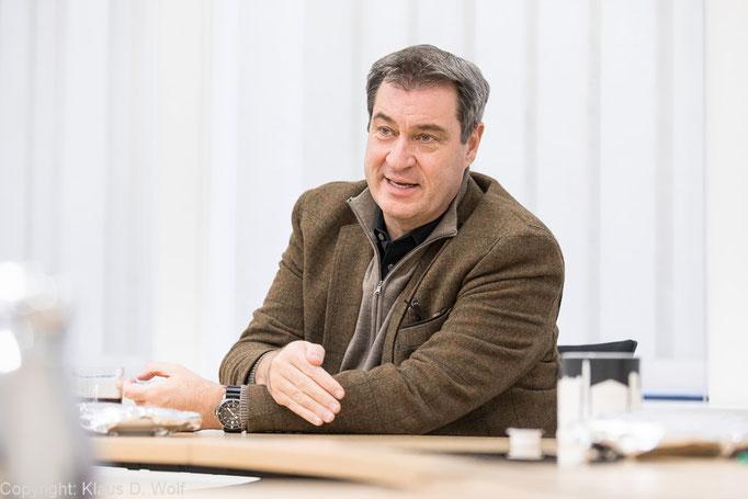 Fotojournalist München: Interview mit Markus Söder für t-online
