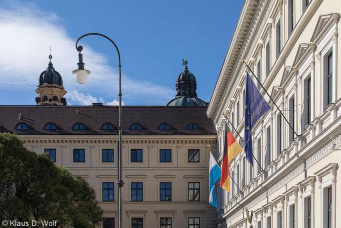 Architekturfotograf München, Altes Odeon, für die PR des Bayerischen Innenministeriums.