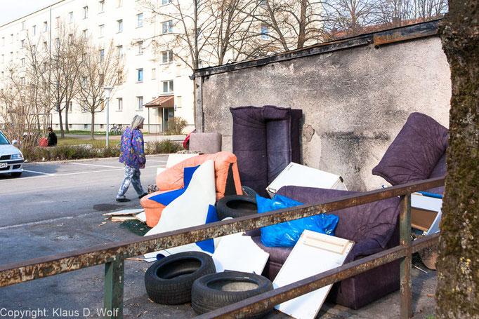 Fotojournalist, Architekturfotografie: Reportage Sanierungsgebiet München-Hasenbergl