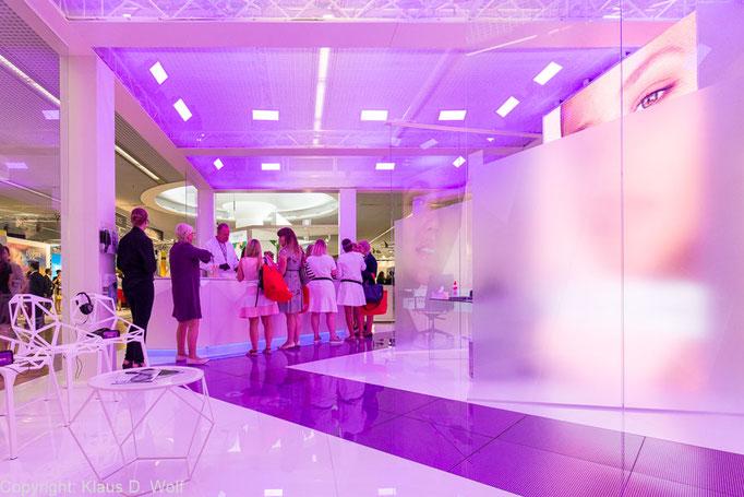 Ausstellungsbereich auf der FOBI, ICM, Messefotograf München