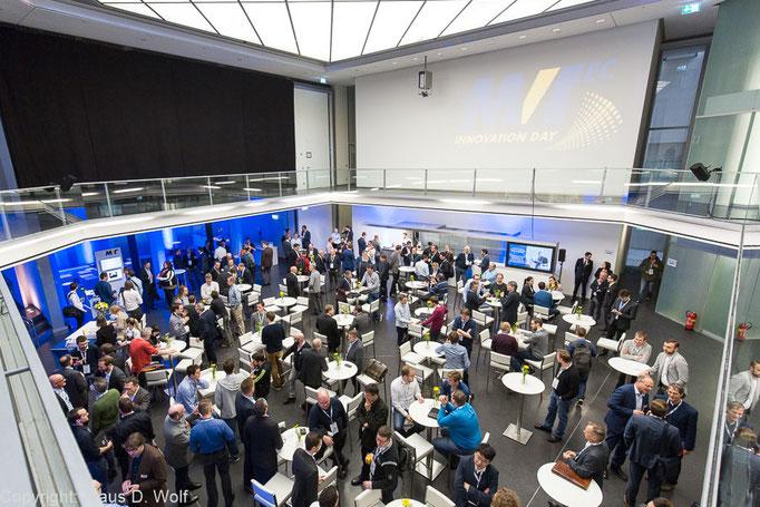 Veranstaltungsfotograf Firmenevent: MVTec Innovation Day, Alte Staatsbank, München