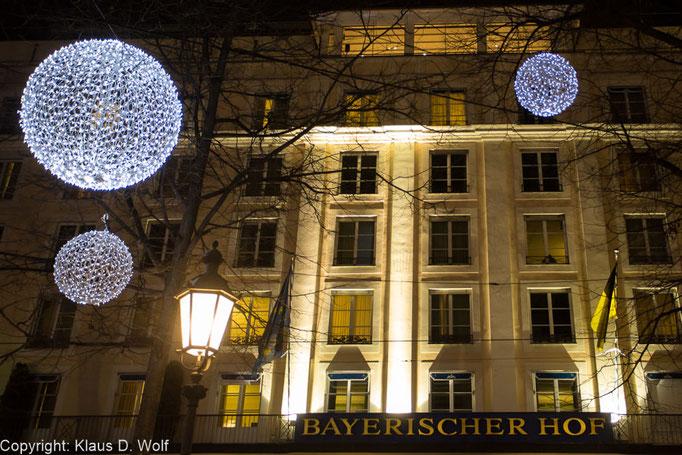 Hotel Bayerischer Hof, München. Location-Foto für eine Veranstaltungsreportage