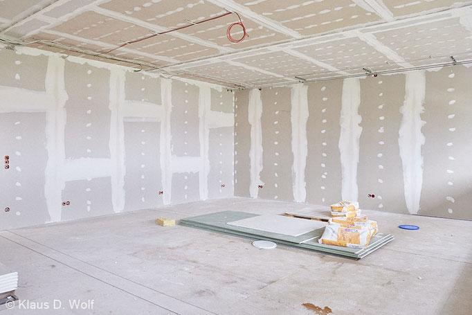Architekturfotograf München, Baustellendokumentation Marktoberdorf für Kleusberg
