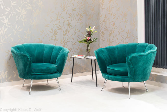 Interieurfotografie: Friseursalon figaro München für das Magazin TOP HAIR Business