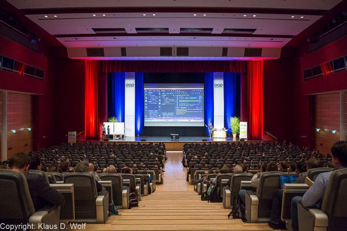 Kongressfotograf München, OOP Konferenz, ICM München
