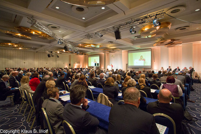 Kongressfotografie, Europäischer Gesundheitskongress im Hilton Park, München