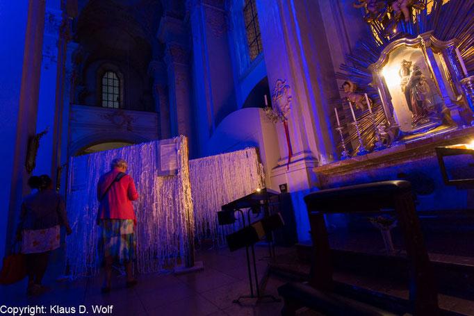Michael Pendry, Clouds 2015, Hammerthaler Madonna, Heilig Geist, München, Fotograf: Klaus D. Wolf