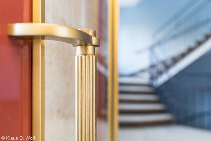 Architekturfotograf München, Tür-Detail, 60er-Jahre
