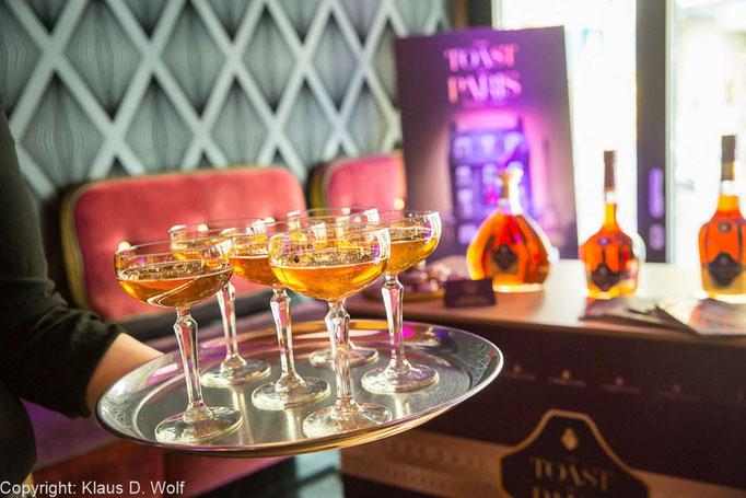 Eventfotografie, Cocktail Competition von Courvoisier, Lux Bar, München