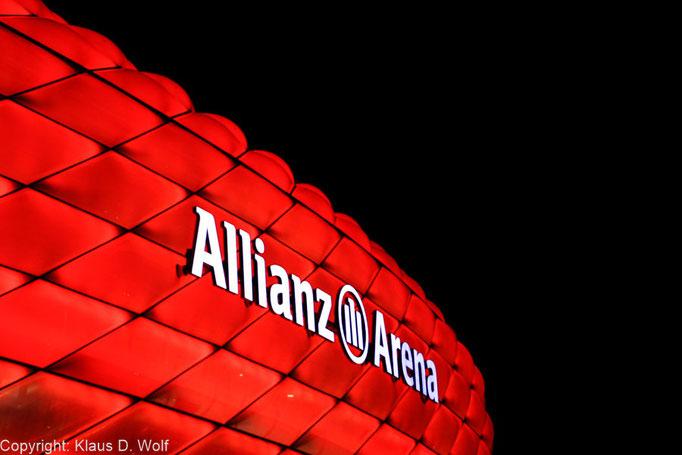 Architekturfoto, Allianz Arena, Veranstaltungsfotografie Sponsoren-Event