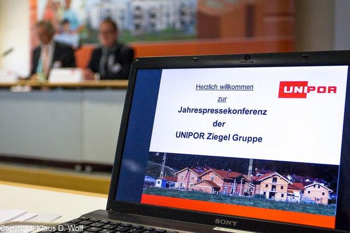 Pressefotograf München, Unipor Jahrespressekonferenz, Messe München