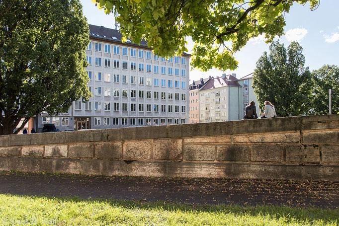 Architekturfotograf München. 60er-Jahre Bürogebäude. Für die Staudinger KG.