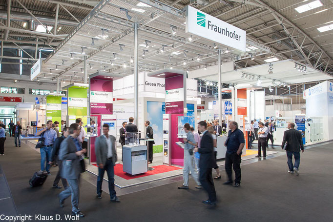 Messefotografie München, Fraunhofer-Institute auf der Laser World of Photonics