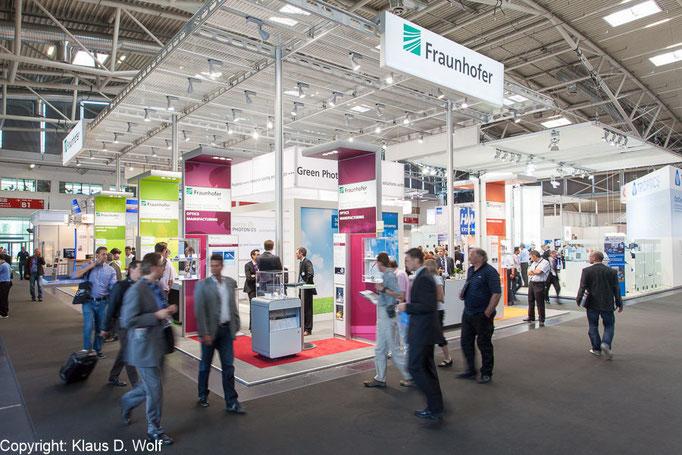 Messefotograf München, Fraunhofer-Institute auf der Laser World of Photonics