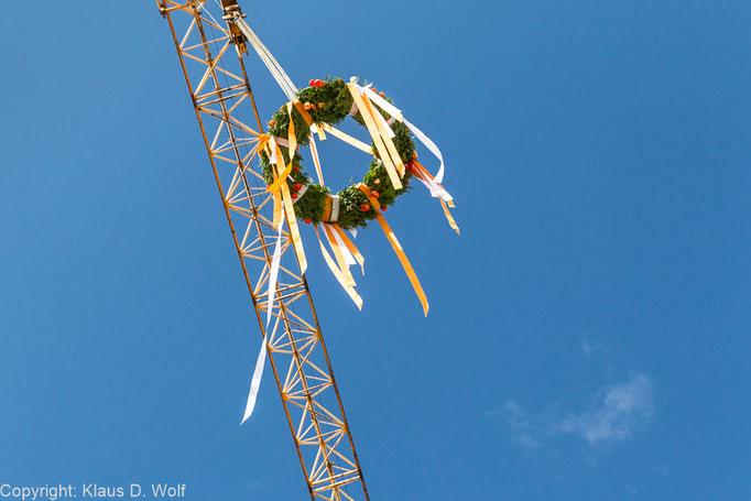 Eventfotografie, Richtfest Project-Immobilien, München