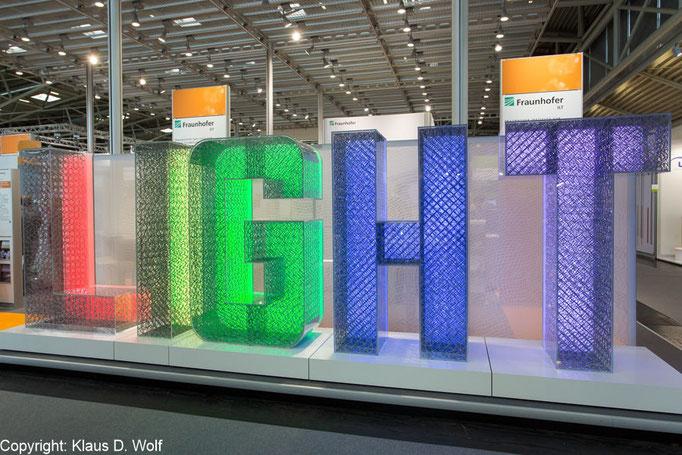 Messefotografie, Fraunhofer Messestand auf der Laser World of Photonics, München