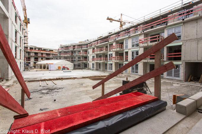 Architekturfotograf München, Baustellendokumentation für Project Immobilien