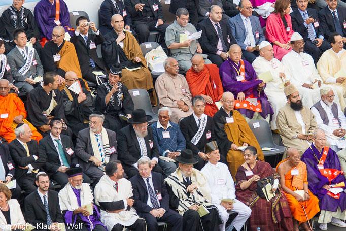 Veranstaltungsfotografie, Friedenstreffen der Weltreligionen, Fotograf: Klaus D. Wolf, München