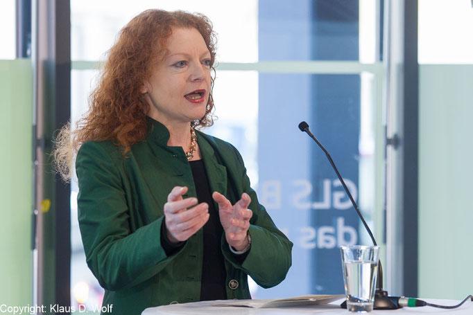 Veranstaltungsfotografie, Margarete Bause, Eröffnung GLS-Bank, München