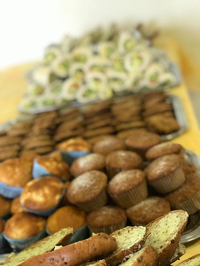 Gesundes Paussenbrot in der Schule Oberthulba - Gemüsemuffins