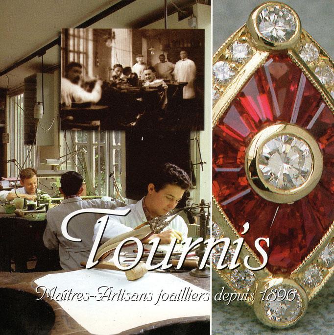 Joaillerie Tournis, Bordeaux, 1896, artisan. Souvenirs