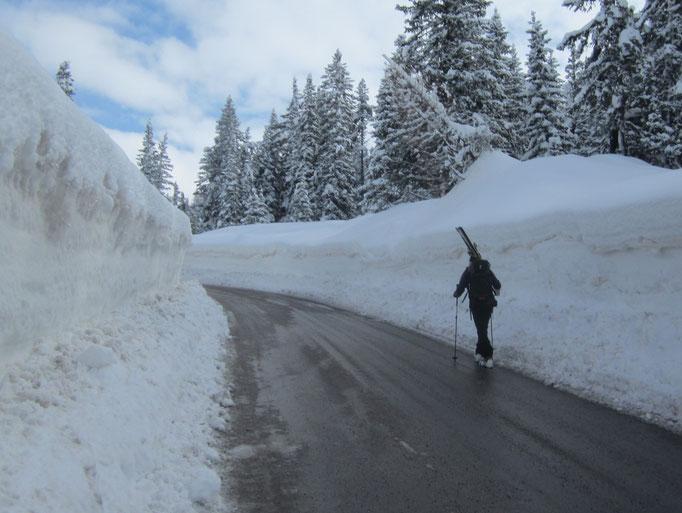 03.03.2014 10:58 Misurina, Südtirol (SkiTourenTage 2014)